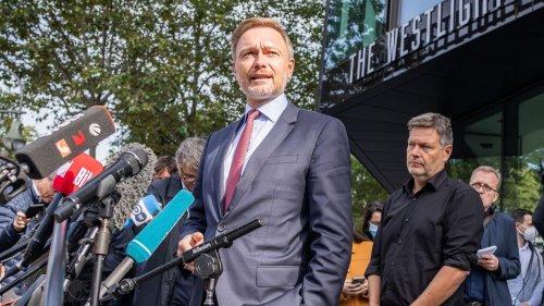 Habeck oder Lindner: Die Tortenschlacht ums Finanzministerium ist eröffnet