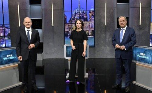 Wie Scholz, Baerbock und Laschet im letzten TV-Triell abgeschnitten haben