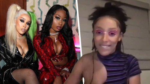 Did Doja Cat just CONFIRM a collaboration with Megan Thee Stallion?!
