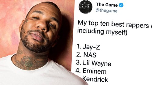 The Game sparks fan debate after revealing his 'Top 10 rappers alive' list