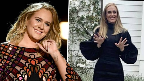 Adele shows off her weight loss as she stuns in 33rd birthday photo dump post