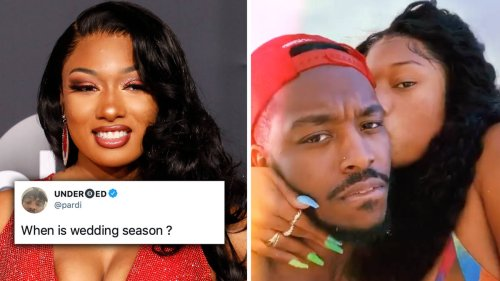 Megan Thee Stallion's BF Pardison Fontaine sparks wedding rumours following cryptic tweet