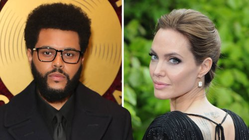 The Weeknd and Angelina Jolie relationship timeline
