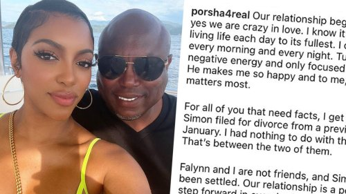 RHOA fans react to Porsha Williams getting engaged to Falynn's ex-husband Simon Guobadia