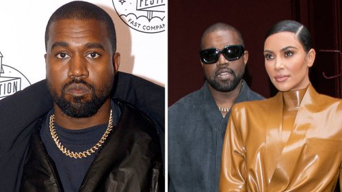 Who is Kanye West rumoured to have 'cheated on Kim Kardashian' with?