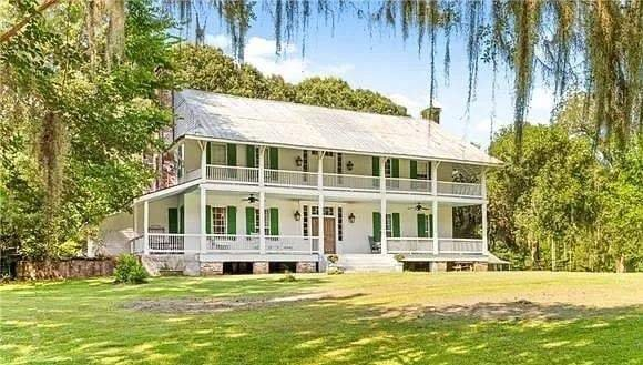 1792 Greenwood For Sale In Woodville Mississippi — Captivating Houses