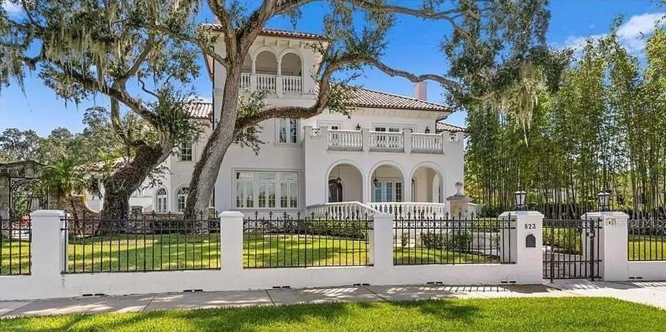 1925 Mansion For Sale In Tampa Florida — Captivating Houses