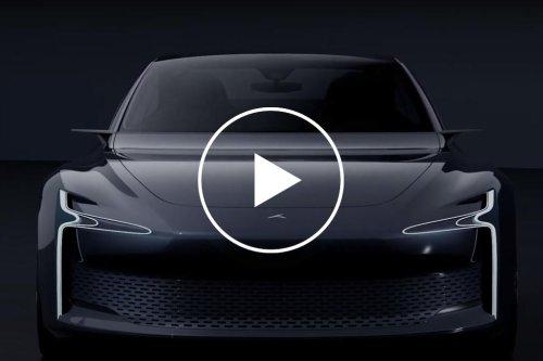 500-HP Hydrogen-Powered Luxury Sedan Has 500-Miles Range