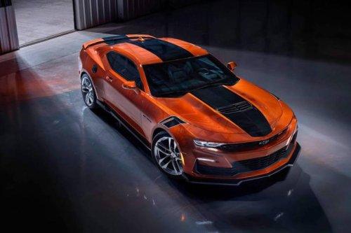 2022 Chevrolet Camaro Looks Perfect In Vivid Orange Metallic