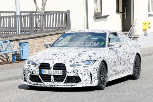 This Is Our First Look At The New BMW M4 CSL