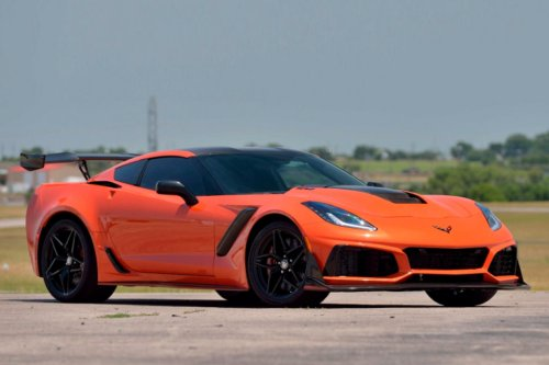 29-Mile Chevy Corvette ZR-1 Is Front-Engined V8 Madness
