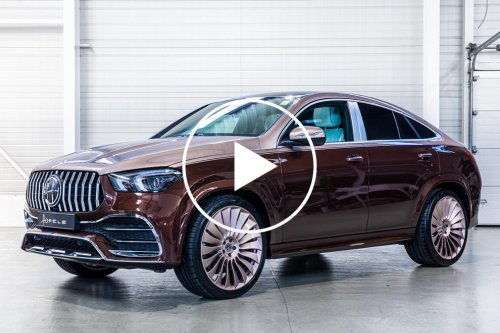 Mercedes-AMG GLE Coupe Gets A Maybach-Style Makeover