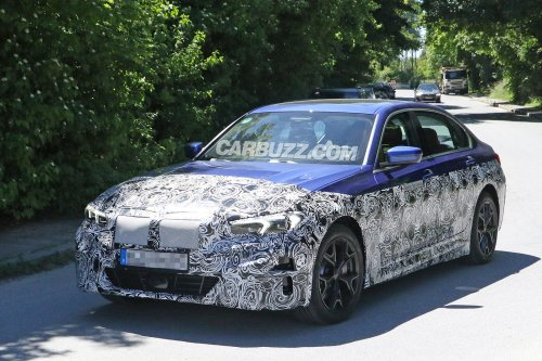 Best Look Yet At BMW's Electric 3 Series