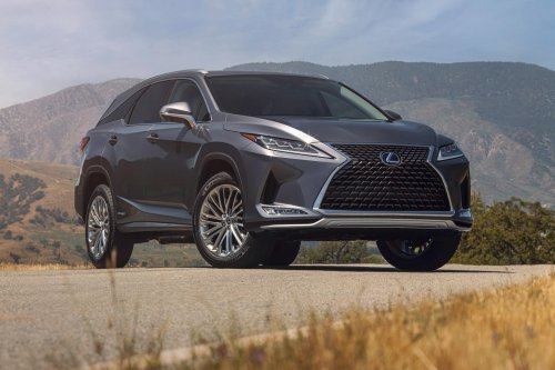 2022 Lexus RX L Three-Row SUV Updated With New Colors