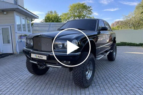 Bentley Arnage 4x4 With Lexus V8 Looks Ready For War