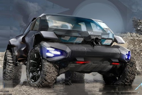 GM's Vision Of A Future Offroader Is Pretty Scary
