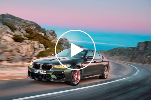 627-HP BMW M5 CS Is Slower Than 617-HP M8 Competition