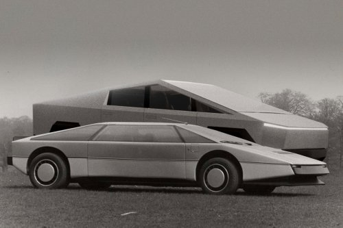 13 Famous Cars That Inspired Tesla Cybertruck's Radical Design