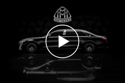 Mercedes-Maybach Teases New V12 To Celebrate 100 Years