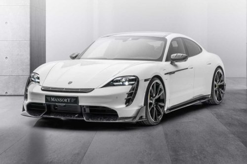 Mansory Modifies Porsche Taycan And It Doesn't Look Terrible