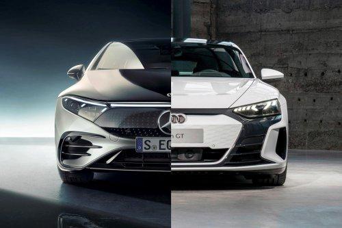 Mercedes-Benz EQS Vs. Audi e-tron GT: Luxury Electric Battle