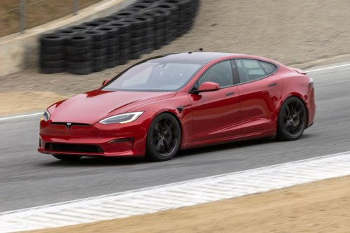 The Tesla Model S Plaid Just Smashed Two More Records
