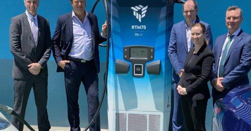 Australia's Tritium wins global EV charging award