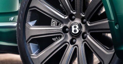 Bentley debuts world's largest carbon wheels