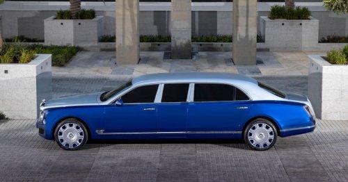Bentley Mulsanne Grand Limousine unveiled