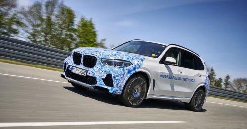 BMW X5 hydrogen FCEV nearly ready