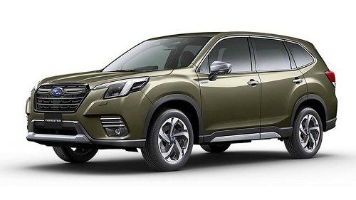 Subaru Debuts the Forester Facelift In Japan