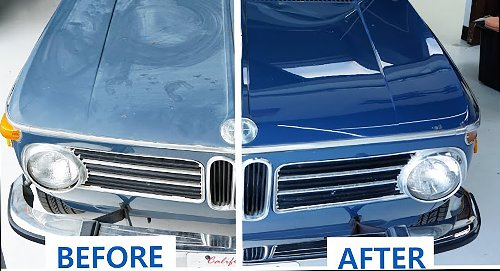 Watch These Detailers Completely Rejuvenate A Junkyard BMW's Paint To Like-New Condition | Carscoops