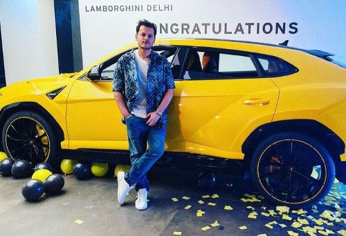 Bollywood singer Shrey Singhal's latest ride is a multi-crore Lamborghini Urus super SUV
