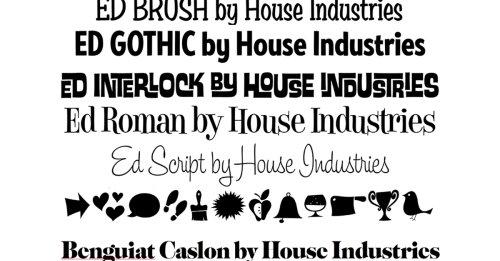 伝説の文字デザイナー、エド・ベンギャットを知っていますか?