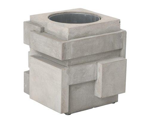 建築的なコンクリート製ワインクーラー。