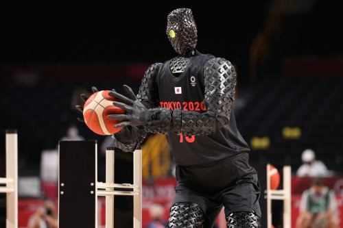 Toyota's Basketball Robot Is Dropping Dimes At The Tokyo Olympics & It's Scaring People