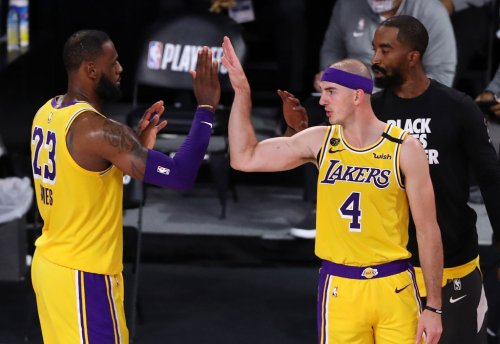 LeBron James Reacts To Alex Caruso Being Busted For Marijuana Possession In Texas