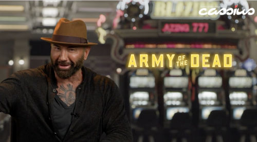 "'Army of the Dead's Dave Bautista Says Zack Snyder's ""Visual Eye"" & ""Being An Artist"" Lured Him To The Film"