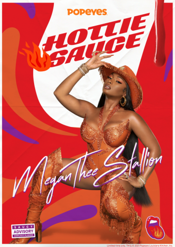 """Megan Thee Stallion and Popeyes Keep """"Hot Girl Summer"""" Going With New Hot Sauce"""