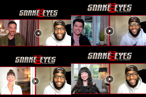 Henry Golding, Andrew Koji, Úrsula Corberó & Haruka Abe Talk 'Snake Eyes: G.I. Joe Origins'