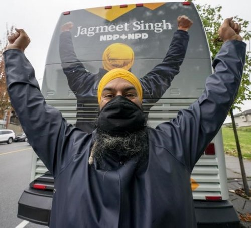Singh vows to fight for people even if there's a 'Groundhog Day' minority government - BC News
