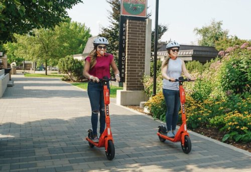 Report to Vernon City Council on Monday states scooter riders must be at least 16 years old (Vernon)