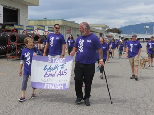 The Kelowna Virtual Walk to End ALS is coming up on June 19, and there are plenty of ways to get yourself involved (Kelowna)