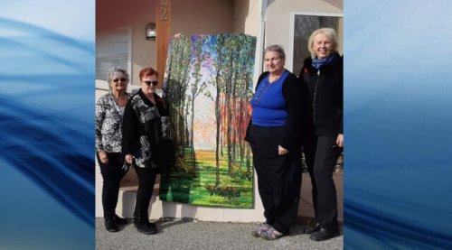 Desert Park Hospice Society raffling off wall quilt made by some of BC's top quilting artists (Penticton)