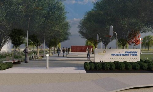 Phase 1 of construction of the long-awaited Pandosy Waterfront Park is underway - Kelowna News