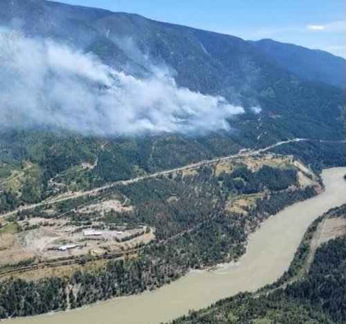 Residents south of Lytton placed on evacuation alert due to growing wildfire nearby (Kamloops)
