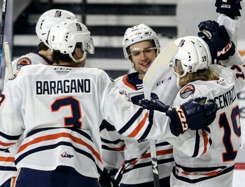 Centazzo, Seminoff have big nights in 5-1 Blazers win over Victoria - WHL