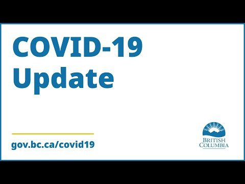 Dr. Bonnie Henry and Health Minister Adrian Dix provide COVID-19 update (BC)