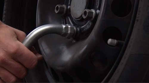Alberta couple averted near tragedy after their vehicle's wheels were tampered with