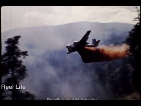 Vintage Okanagan footage shows air tankers and aerial seeding from mid 1970s - Vernon News